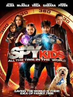 Spy Kids: All the Time in the World Amazon Instant Video ~ Jessica Alba, love this movie!!!!