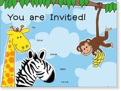 SanLori Designs Zippity Zoo Da Invitations #YoYoBirthday
