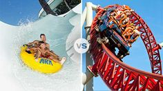 Destination Showdown: The Dells vs. Cedar Point. Which should take the title of Best Theme Park Vacation?