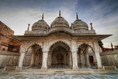 The Pearl Mosque - Agra Fort - Moti Mahal