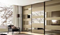 Wardrobe mirrored doors #wardrobestyles