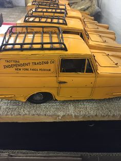 We have had these Robin Reliant's arrive this week for a bespoke Only Fools & Horses display! Luvly Jubbly!