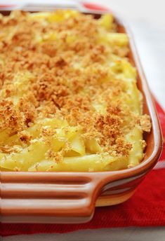 Civil War Macaroni and Cheese - Macaroni cooked in milk; no need to make sauce separately; All done in one pot! ~~ KitchenNostalgia.com