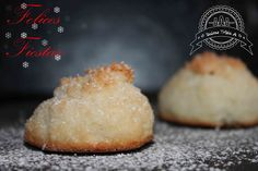 DULCES TRIPLE A: Sultanas de Coco y Felices Fiestas Old Recipes, Great Recipes, Cookie Recipes, Comida Kosher, 1st Birthday Cakes, Good Food, Yummy Food, Throw A Party, Non Alcoholic Drinks