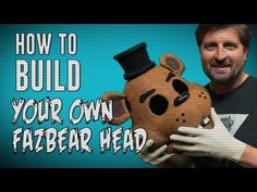 I cannot believe how easy this is. :D how to make your own Freddy fazbear head.