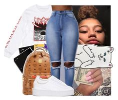 """"""""""" by theyknowniyaaa ❤ liked on Polyvore featuring RIPNDIP and Puma"""