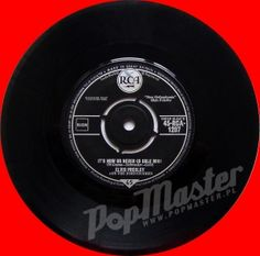 Elvis Presley  It's Now Or Never (O Sole Mio)  45-RCA-1207