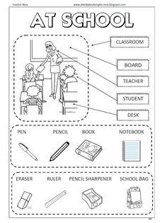 Atividades de Inglês: SCHOOL Mais