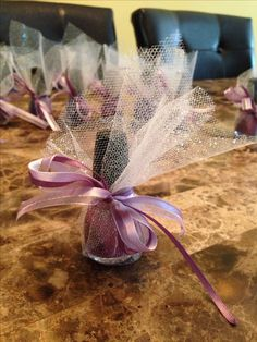 Lauren's Bridal Shower Favors!!!!