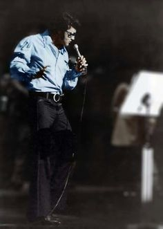 Elvis August 10, 1970 -  TTWII Rehearsals - only hours before the opening show.