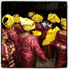 Nigerian Weddings fashion