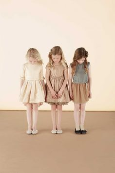 Luxe kids fashion by Marie Chantal for fall 2014 ️ We heart ❤️ @dimitybourke.com #kidsfashion #designer #childrenswear #kidswear #girls