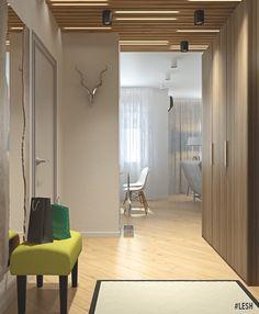 Дизайн-проект квартиры 50 кв.м. | Студия LESH