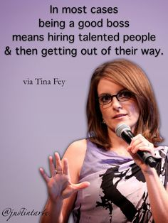 Tina Fey on Leadership Work Quotes, Great Quotes, Quotes To Live By, Me Quotes, Motivational Quotes, Inspirational Quotes, Tina Fey Quotes, Lol So True, Leadership Quotes