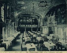 Bayernhof entertainment palace, old Berlin - where to find the scattered remnants of this beautiful former restaurant....