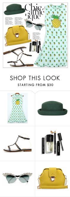 """""""Sweet Spring Dresses"""" by teoecar ❤ liked on Polyvore featuring Topshop, Bobbi Brown Cosmetics and Dsquared2"""