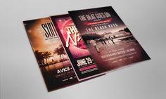Original Mockups - Flyer and Poster Mockup 01 - 1