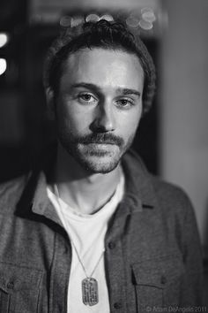 John Gourley. Not a huge fan of the stache he usually rocks, but I think he is strangely attractive