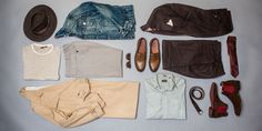 The Capsule Wardrobe: Chocolate Linen