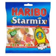 The reason I love haribo because each sweet has a completely different taste.