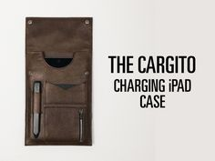 From the makers of the Cord Taco and the Cordito, This is Ground launches a new #iPad #charging #case. - http://thegadgetflow.com/portfolio/charging-ipad-case/