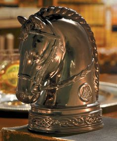 Look at this Horse Head Figurine on #zulily today!