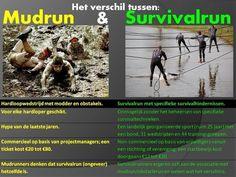 Nuance | Het verschil tussen Mudruns, Obstacleruns en Survivalruns