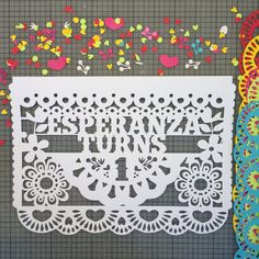 DIY Papel Picado Banner with Cricut Papel picado Cricut and Banners
