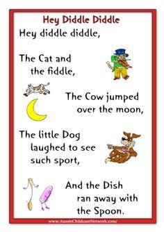 nursery rhymes free printables