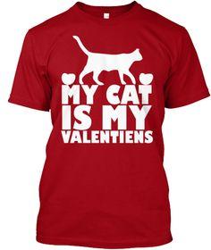 Valentine Shirt Cat Valentine Shirt Women Shirt My Valentine T-Shirt Valentine Gift Hoodie Cat Gift Black and Navy Cat Lover T Shirt