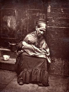 """The """"Crawlers"""" - """"old women reduced by vice and poverty to that degree of wretchedness which destroys even the energy to beg."""""""
