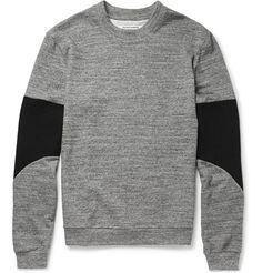 Public School - Panelled Cotton French Terry Sweatshirt|MR PORTER