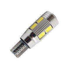 1X car styling Car Auto LED T10 194 W5W Canbus de 10 smd 5730 Bombilla LED No error led luz de estacionamiento de T10 LED Luz Pilota Del Coche