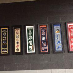 #sports #detroit #lions #redwings #msu #michiganstate #michigan #tiger #mlb #nhl #pistion #Padgram Detroit State, Michigan State Spartans, Ml B, Tiger, Wall Hangings, Nhl, Cave, Pride, Logo