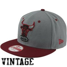 NBA New Era Chicago Bulls Custom 9FIFTY Snapback Hat - Gray/Red by New Era. $30.00. Adjustable plastic snap strap. Flat bill. Structured fit. 80% Polyester/20% Wool. New Era Chicago Bulls Custom 9FIFTY Snapback Hat - Gray/Red80% Polyester/20% WoolQuality embroideryContrast color accentsAdjustable plastic snap strapFlat billImportedOfficially licensed NBA productStructured fit80% Polyester/20% WoolStructured fitAdjustable plastic snap strapFlat billQuality embroideryContra...