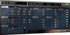 FREEWARE (VST.Win) - MauSynth - analog-modeling polyphonic VST synthesizer