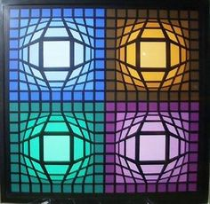 Lain - (Victor Vasarely)