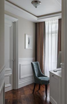 home interior design columns Home Room Design, Home Office Design, Home Interior Design, Interior Architecture, Living Room Designs, Living Room Decor, Interior Decorating, Neoclassical Interior, Flur Design