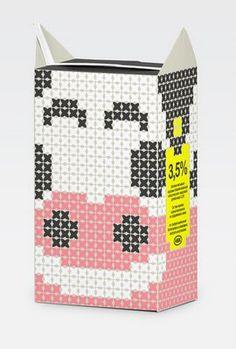 PackagingBlog / Best Packaging Designs Around The World: Experimental Milk Packaging