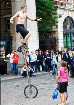 Street Performers in Covent Garden, London