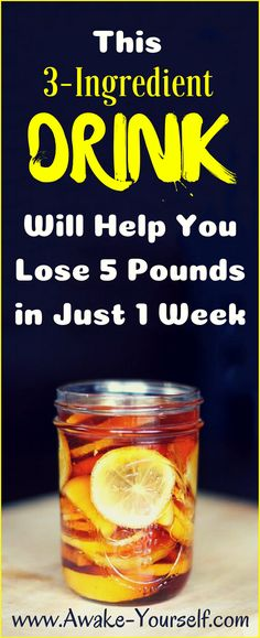 DIY Quick Weight Loss Remedy selected just for you Detox Drinks, Healthy Drinks, Healthy Tips, How To Stay Healthy, Healthy Snacks, Acv Drinks, Healthy Juices, Healthy Weight, Cocktails
