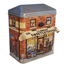 The Silver Crane Company Tins CANO0007 Small Canopy Sweets & Toffee Shop | eBay