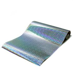 Silver Prisma Metallic Holographic Self-Adhesive Glitter Wallcovering