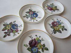 Vintage Royal Worcester Fine Bone China Floral by jenscloset, etsy
