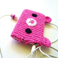 bear ipod cozy-- so cute and simple!