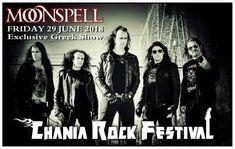 Οι MOONSPELL στο Chania Rock Festival