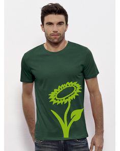 Vlower T-Shirt // vegan & fair, made of organic cotton Vegan Fashion, Ethical Fashion, T Shirt Vegan, Vegan Shopping, Vegan Clothing, Simple Shirts, Longsleeve, Vegan Lifestyle, Organic Cotton