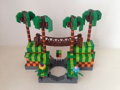 Lego Dimensions Sonic the Hedgehog Green Hill Zone custom portal