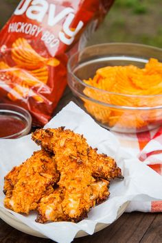 Potato Chip Chicken Tenders by Irvin Lin of Eat the Love.