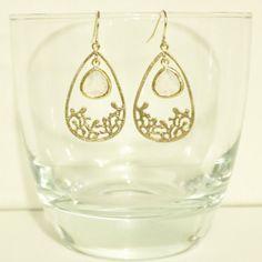 Items similar to Violet Clear Framed Glass Pendant Flower Pendant Earrings on Etsy Pendant Earrings, Pearl Earrings, Drop Earrings, Touch Of Gold, Pearl Flower, Flower Pendant, Glass Pendants, Gems, Trending Outfits